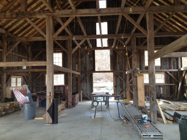 Barn interior 3