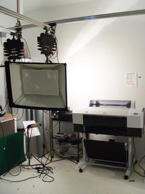 Media printer web