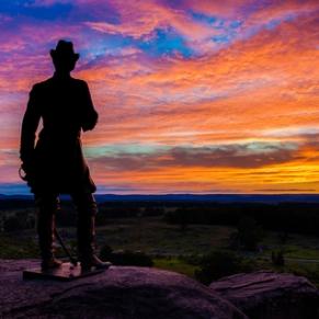 Gettysburg_Sunset_Little_Round_Top