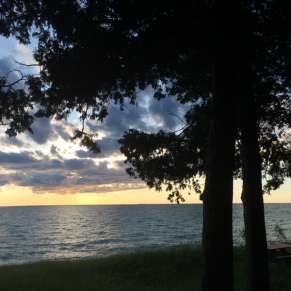 Good_Hart_Artist_Residency_Lake_Michigan_sunset