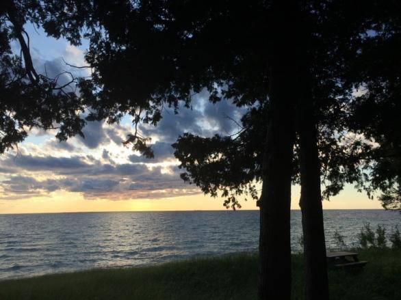 Good_Hart_Artist_Residency_Lake_Michigan_sunset